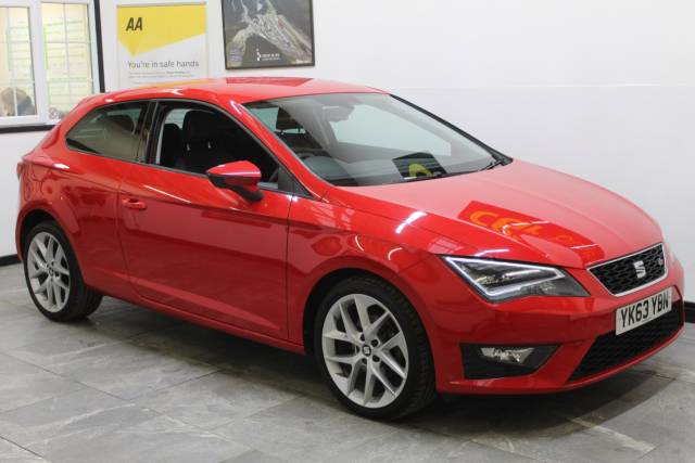 2013 Seat Leon 2.0 TDI FR 3dr [Technology Pack]